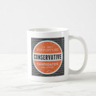 Support Conservatives Coffee Mug