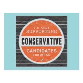 Support Conservatives Postcard