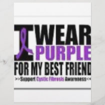 Support cystic fibrosis research