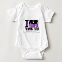 Support cystic fibrosis research baby bodysuit