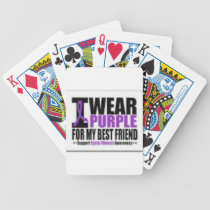 Support cystic fibrosis research bicycle playing cards