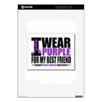 Support cystic fibrosis research decal for iPad 2