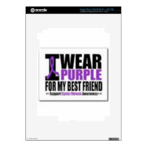 Support cystic fibrosis research decal for iPad 3
