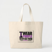 Support cystic fibrosis research large tote bag