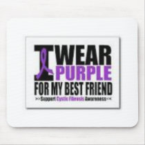 Support cystic fibrosis research mouse pad