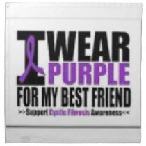 Support cystic fibrosis research napkin