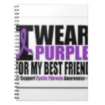 Support cystic fibrosis research notebook