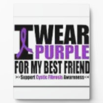 Support cystic fibrosis research plaque