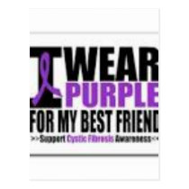 Support cystic fibrosis research postcard
