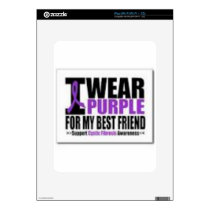 Support cystic fibrosis research skin for the iPad