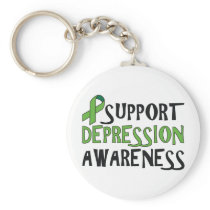 Support Depression Awareness Keychain