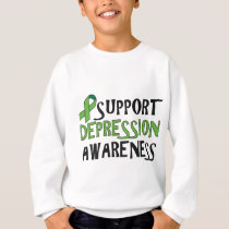 Support Depression Awareness Sweatshirt