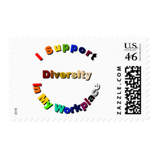 Support Diversity in My Workplace Stamp
