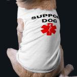 """Support Dog Medical Alert Symbol Dog Tank Top Tee<br><div class=""""desc"""">Support Dog Medical Alert Symbol Dog Tank Top Tee</div>"""
