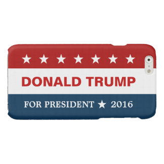 Support Donald Trump for President 2016 Campaign Glossy iPhone 6 Case