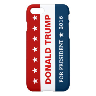 Support Donald Trump for President 2016 Campaign iPhone 7 Case