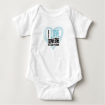 Support Down Syndrome Baby Bodysuit