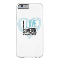 Support Down Syndrome Barely There iPhone 6 Case