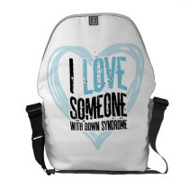 Support Down Syndrome Courier Bag