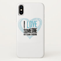 Support Down Syndrome iPhone X Case