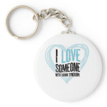 Support Down Syndrome Keychain
