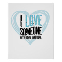 Support Down Syndrome Poster
