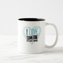 Support Down Syndrome Two-Tone Coffee Mug