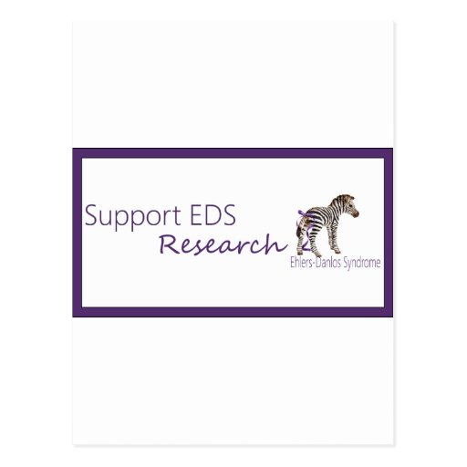 Support EDS research.png Post Card