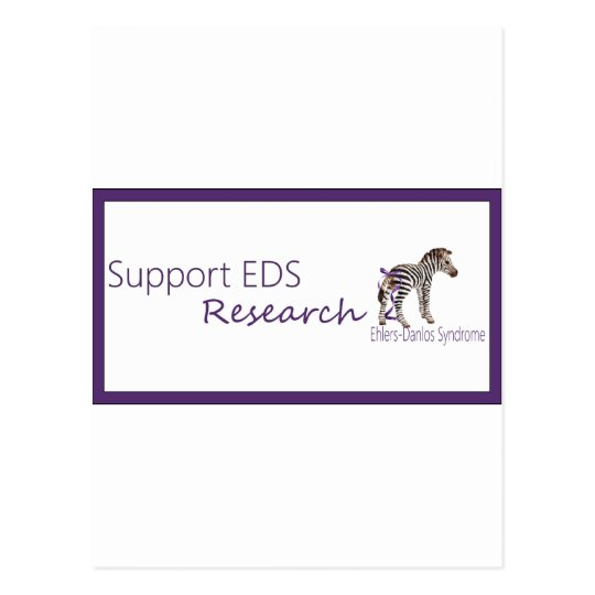 Support EDS research.png Postcard