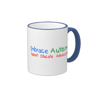 Support Educate Advocate Ringer Mug