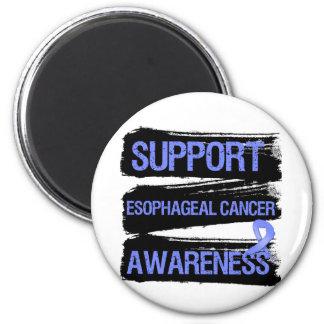 Support Esophageal Cancer Awareness Grunge 2 Inch Round Magnet