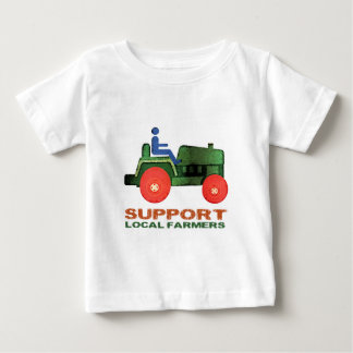 Support Farmers Baby T-Shirt