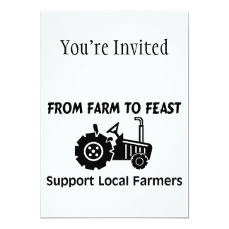 Support Farmers From Farm To Feast Card