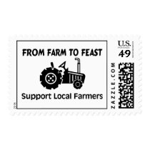 Support Farmers From Farm To Feast Postage
