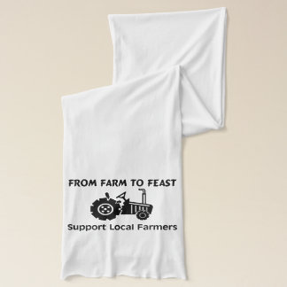 Support Farmers From Farm To Feast Scarf