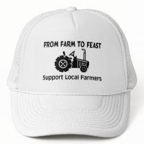 Support Farmers From Farm To Feast Trucker Hat