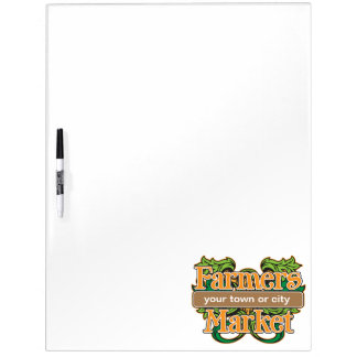 Support Farmers Market Dry Erase Whiteboards