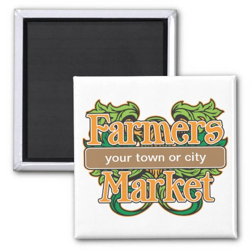 Support Farmers Market Magnet