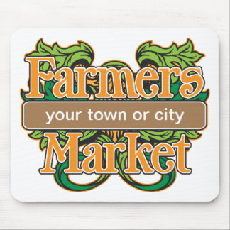 Support Farmers Market Mouse Pads