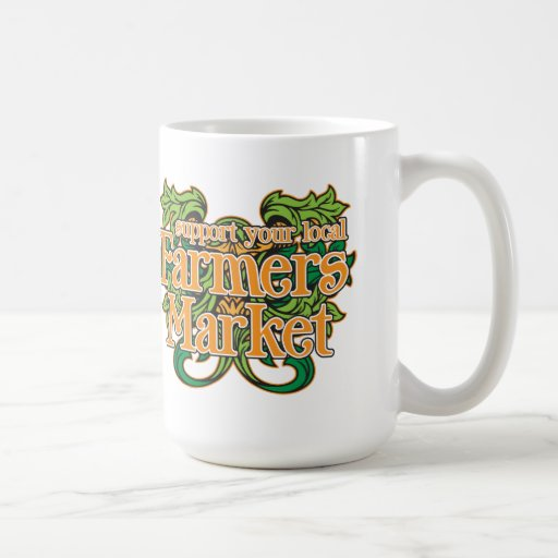 Support Farmers Market Mugs