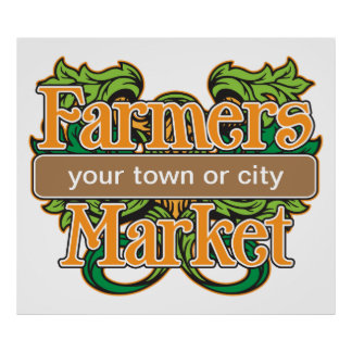 Support Farmers Market Poster