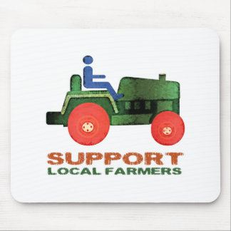 Support Farmers Mousepad