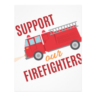 Support Firefighters Letterhead