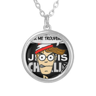 Support for Charlie Round Pendant Necklace