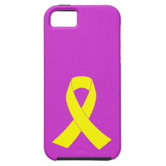 Support for Military Forces - Yellow Ribbon iPhone SE/5/5s Case