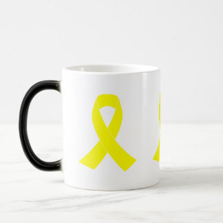 Support for Military Forces - Yellow Ribbon Magic Mug