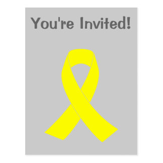 Support for Military Forces - Yellow Ribbon Postcard