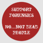 support forensics stickers