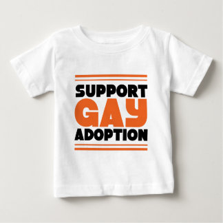 Support Gay Adoption Baby T-Shirt