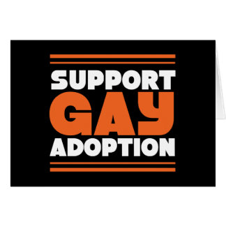 Support Gay Adoption Card